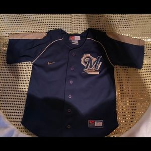 Kids size 5 Brewers Jersey